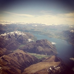 Queenstown from above - I love this place!