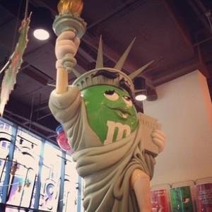 MnM World Lady Liberty