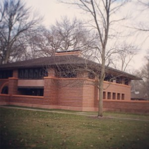 F.L Wright Oak Park House