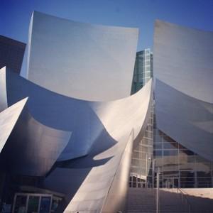 Walt Disney Concert Hall Entrance