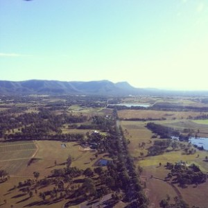 The Beautiful Hunter Valley Wine Country